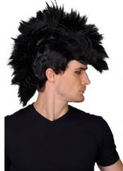 Black Punk Rocker Wig (EW8028)